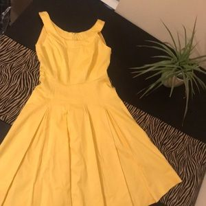 ✨Yellow CALVIN KLEIN Dress✨